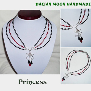 """Princess"" necklace"