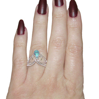 Mermaid Tear Ring
