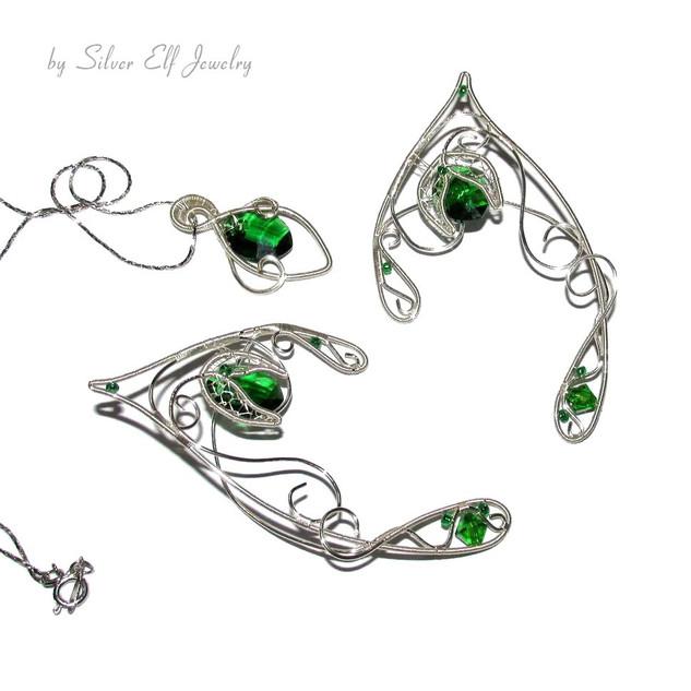 Green And Silver Shades set