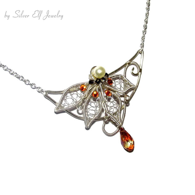 Light Of The Elves Necklace