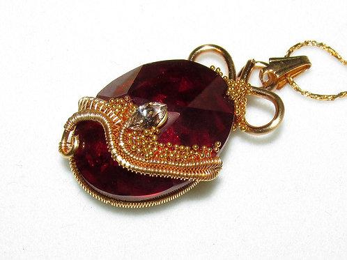 Elverquisst pendant