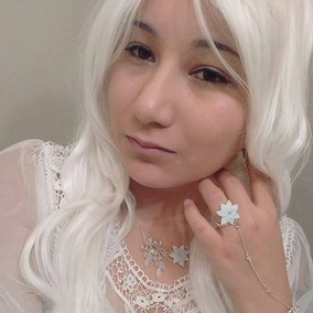 Awesome Silver Elf Princess