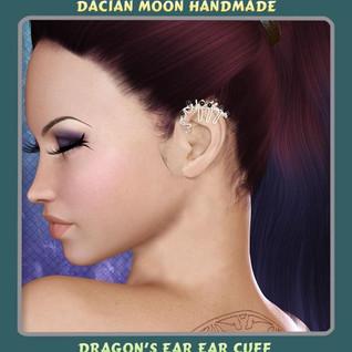 """""""Dragon's ear"""" ear cuff"""