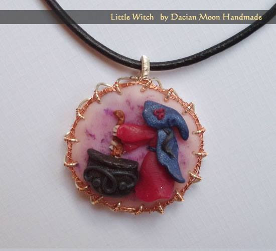 """Little Witch"" pendant"