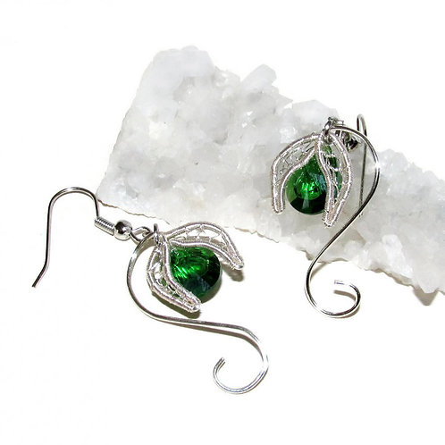 Spring in Lorien earrings
