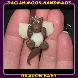 """Dragon Baby"" pendant"