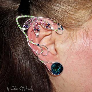 Bejeweled Ears For Neytiri Costume