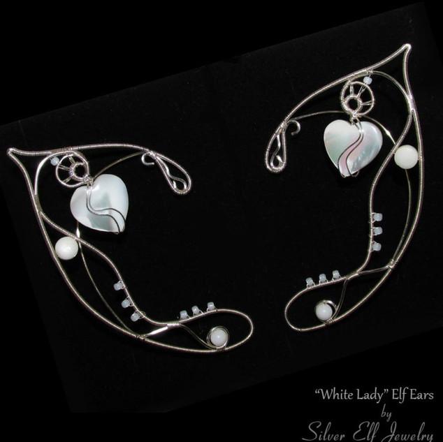 White Lady Elven Ears