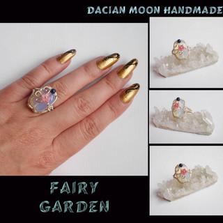 """Fairy Garden"" ring"