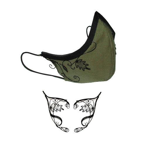 Shadowdancer mask and elf ears
