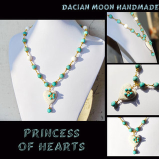 """Princess of Hearts"" necklace"