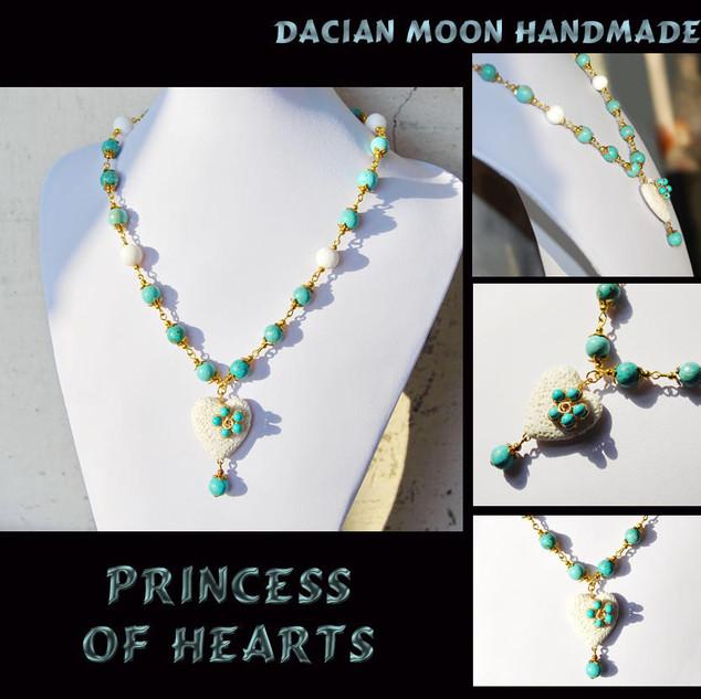 """Princess of Hearts"" necklace"