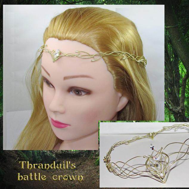 Thranduil Battle Crown