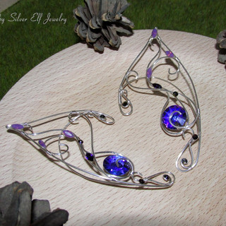 Purple Sun Elf Ears