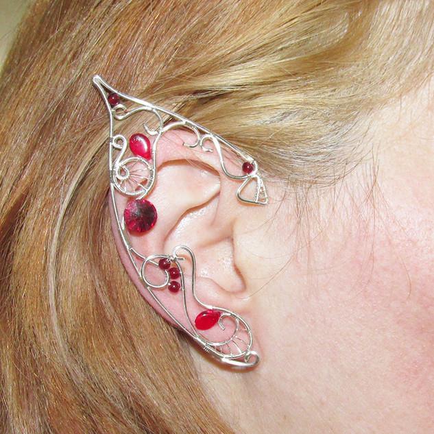 Red Sunset Elf Ears