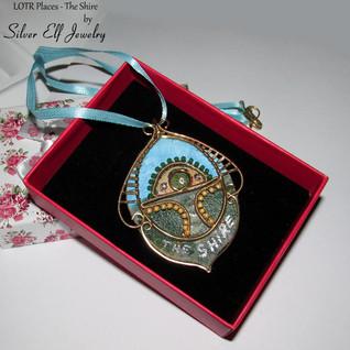 LOTR Places - The Shire pendant