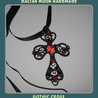 """""""Gothic Cross"""" pendant"""