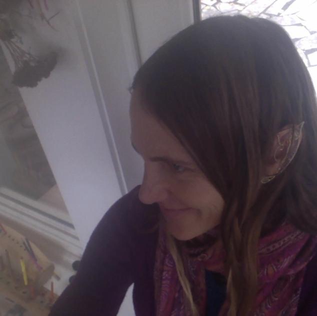 """Beautiful elf lady wearing """"Uinen elf ears"""""""