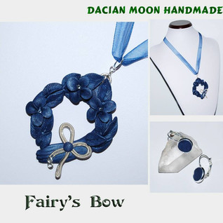 """Fairy's Bow"" jewelry set"