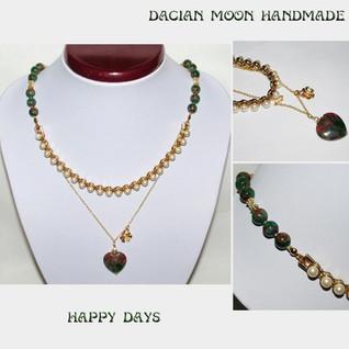 """Happy Days"" necklace"