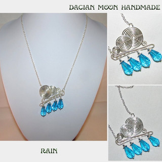 """Rain"" necklace"