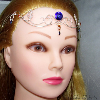 Purple Night Tiara
