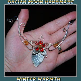 """Winter Warmth"" necklace"