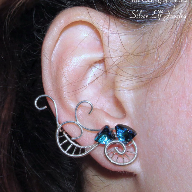 Calling Of The Sea Earrings