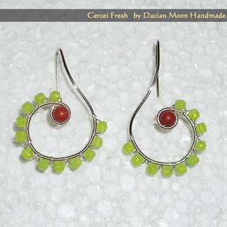 """""""Fresh"""" earrings"""
