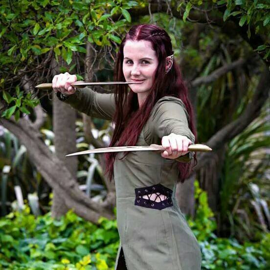 Beautiful Tauriel from New Zealand