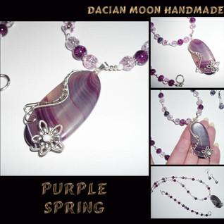 """Purple Spring"" set"