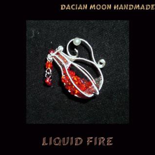 """""""Liquid Fire"""" pendant"""