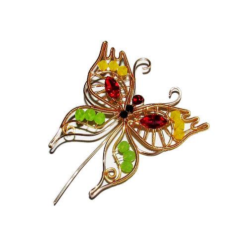 Spring Butterfly brooch