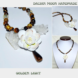 """Golden Light"" necklace"