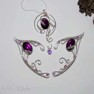 Violet Lake Jewelry Set