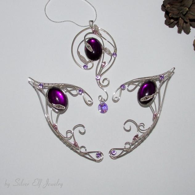 Violet Lake Jewelry Set