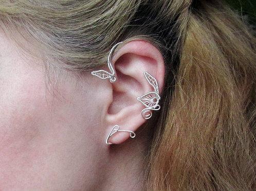 Belle's ear cuff, Spring