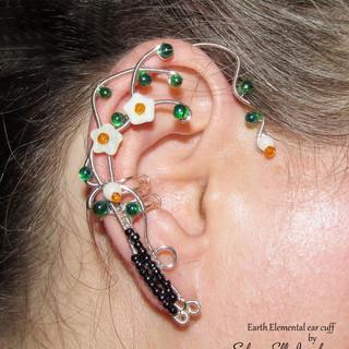 Earth Elemental ear cuff