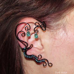 Dark Water Ear Cuff
