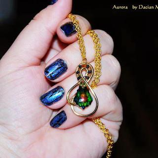 """""""Aurora"""" pendant"""