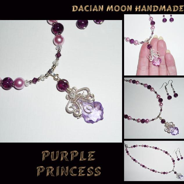 """""""Purple Princess"""" set"""