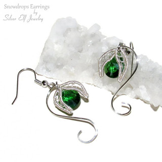 Snowdrops Earrings