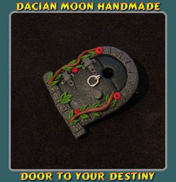 """Door to your Destiny"" brooch"