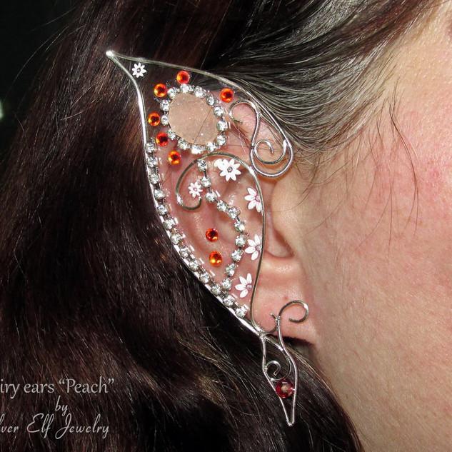 Fairy Ears For Peach Fairy Costume