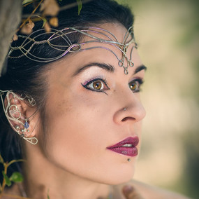 Gorgeous elven princess from France