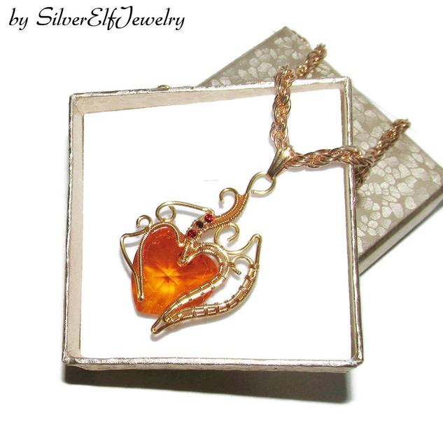 Heart Of Fire Pendant