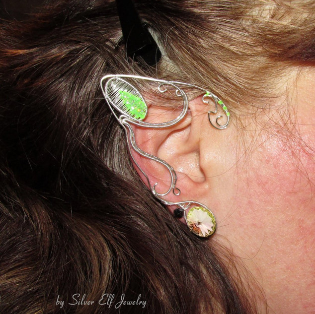 Glow In The Dark Ear Jewelry