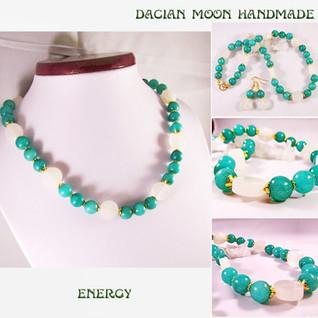 """""""Energy"""" jewelry set"""