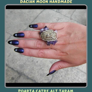 """""""Gate to another realm"""" adjustable ring"""