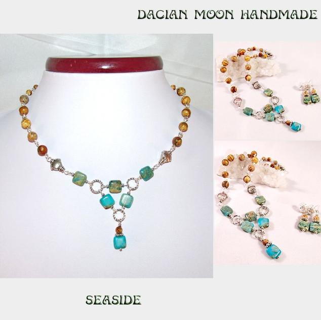"""Seaside"" jewelry set"